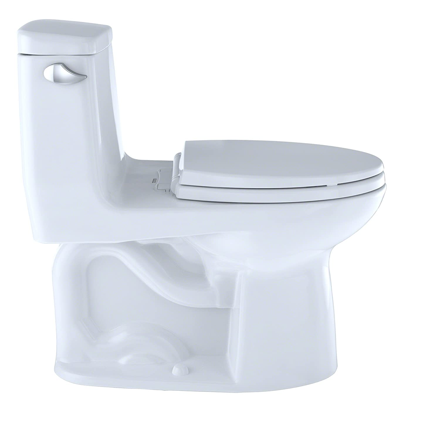 TOTO MS854114S#01 Ultramax Elongated One Piece Toilet, Cotton White ...
