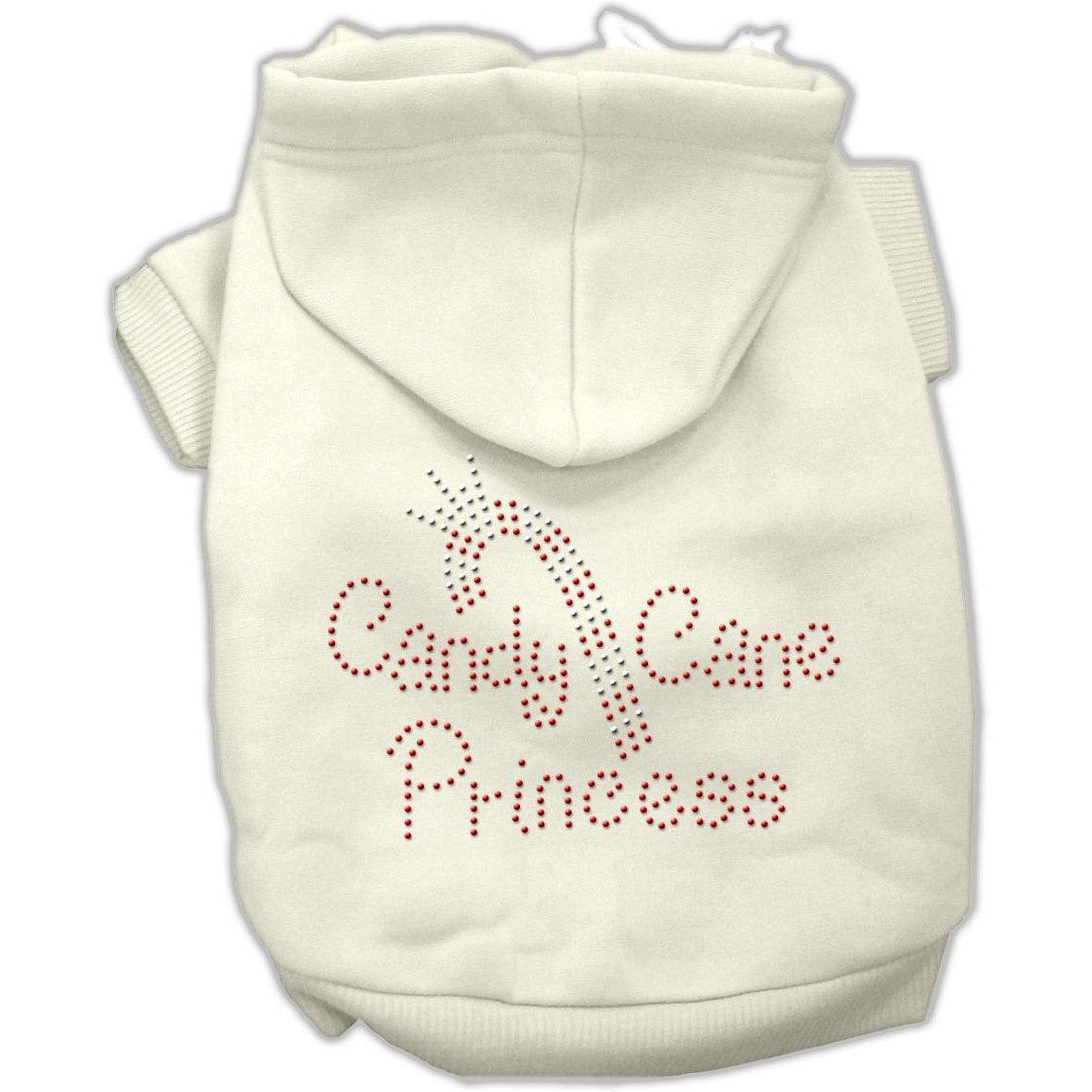 Candy Cane Princess Hoodies Cream XXL (18)
