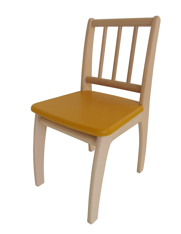 Geuther - Stuhl passend zu Sitzgruppe Bambino, natur-blau 2420 NAGK