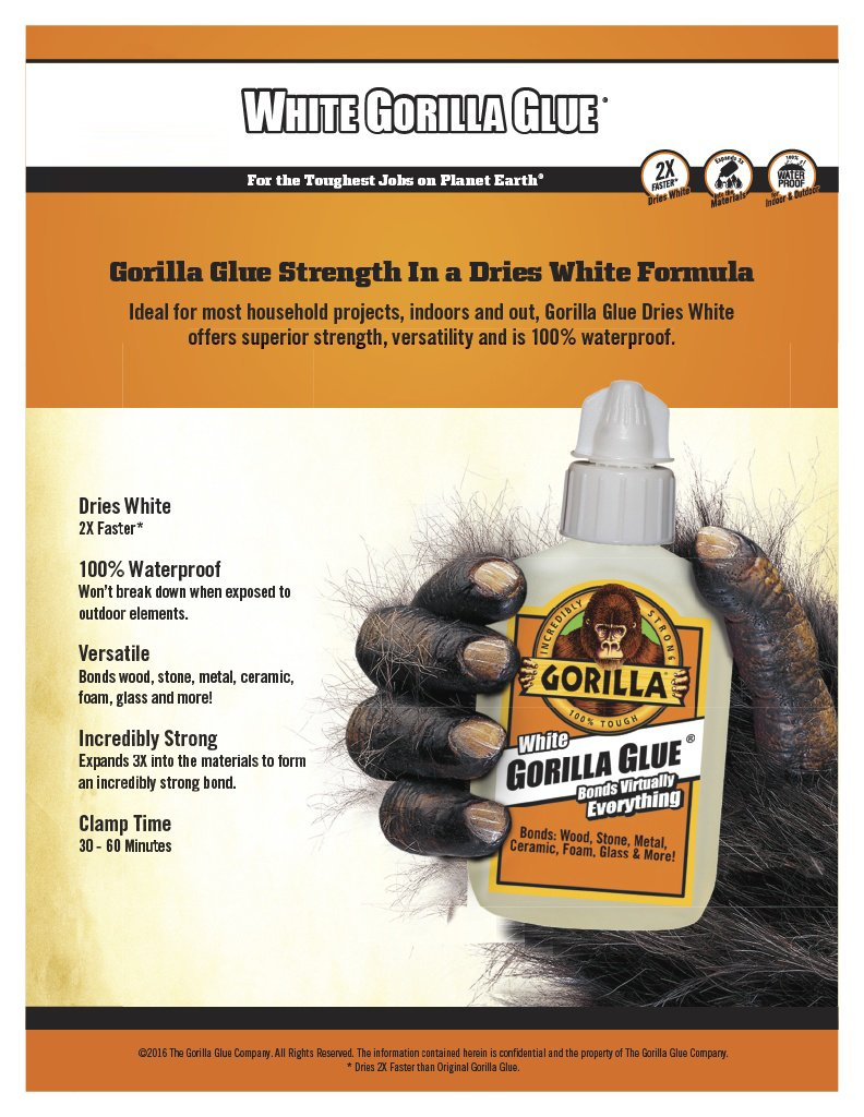 Amazon Gorilla White Gorilla Glue Pen75 Oz White Home