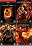 The Hunger Games Quadrology Complete 1-4 DVD Collection - The worldwide phenomenon: The Hunger Games / The Hunger Games: Catching Fire / The Hunger Games: Mockingjay Part 1 / The Hunger Games: Mockingjay Part 2