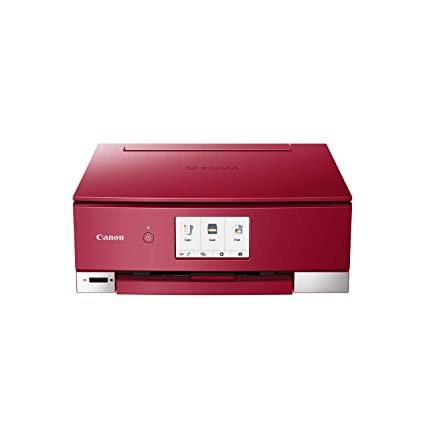 Impresora Multifuncional Canon PIXMA TS8252 Roja Wifi de inyección de tinta