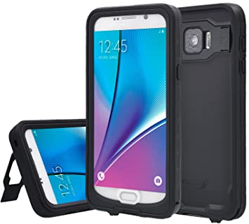 on sale e01a5 0bfea Note 5 Case Samsung Galaxy Note 5 Waterproof Case XIKEZAN Underwater  Shockproof Dirtproof Heavy Duty Full Body Armor Defender Protective Hard  Cover ...
