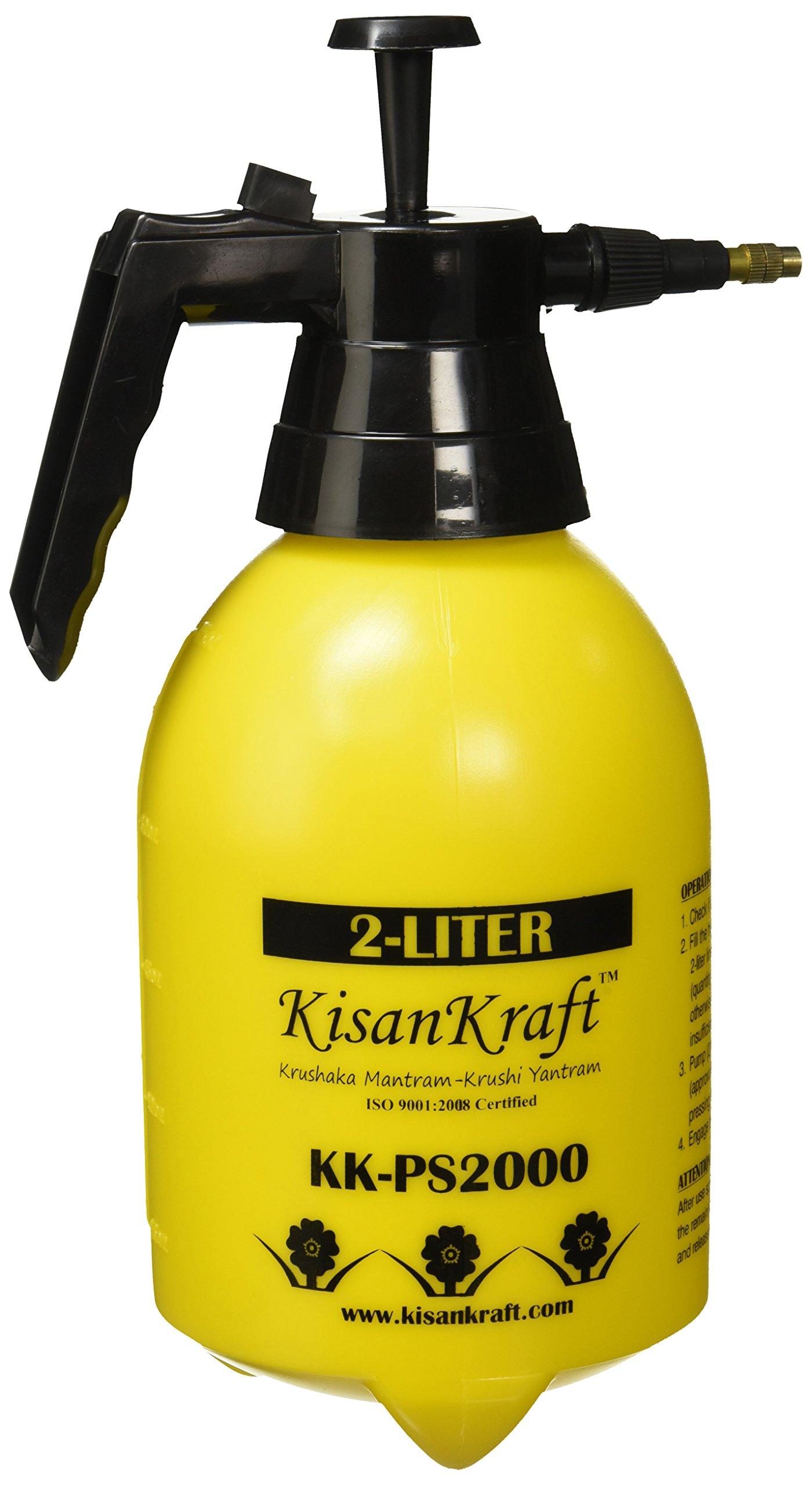 Kisan Kraft KK-PS2000 Manual Sprayer (2 Litre) (Color May Vary) product image