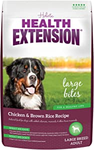 Health Extension Large Breed (Large Bites) Dry Dog Food - Chicken & Brown Rice Recipe, 30 LB