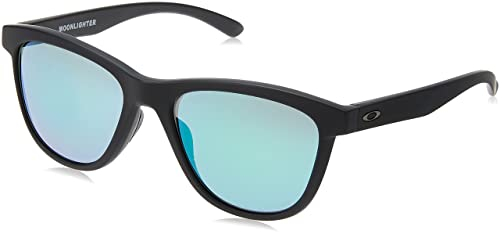 Oakley OO9320-12 Occhiali da sole Moonlighter Pop Polar, Polarizzati