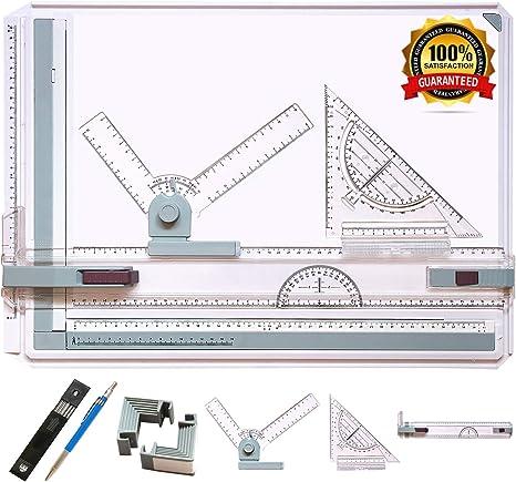 frylr Métricas A3 tablero de dibujo mesa de dibujo con movimiento ...