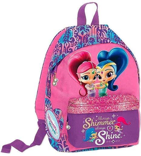 Mochila Shimmer & Shine Infantil Pequeña