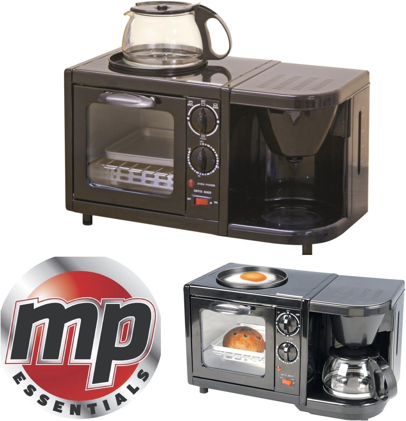 Electrodomésticos 3 en 1 para caravana MP Essentials, con horno, parrilla y cafetera eléctrica