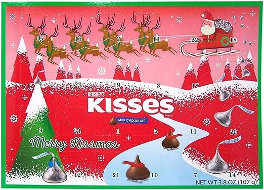 Hershey Chocolate Christmas 2020 Amazon.com: Hershey Milk Chocolate Kisses Candy Filled 2020