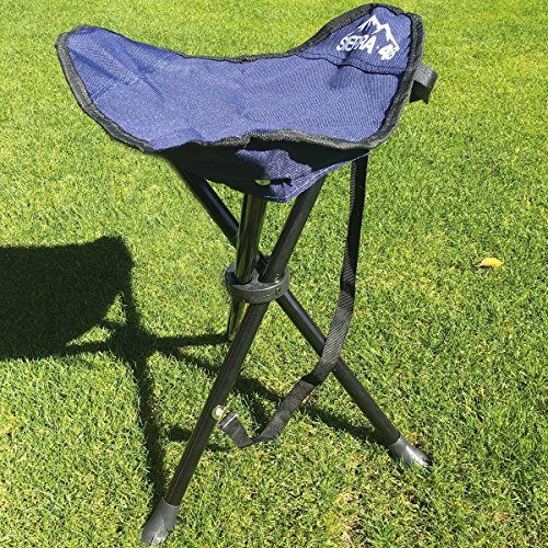 Camping Tripod Stool Perfect Hiking Folding Chair With