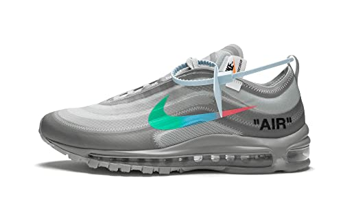 0524c17c35fd5 Nike Air Max 97 x Off White - Off White Menta-Wolf Grey Trainer ...