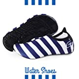 Kids Water Shoes/Quick-Drying, Comfortable Children Aqua Shoes with Rubber Soles/for Pool, Beach, Yoga and Water Hikes