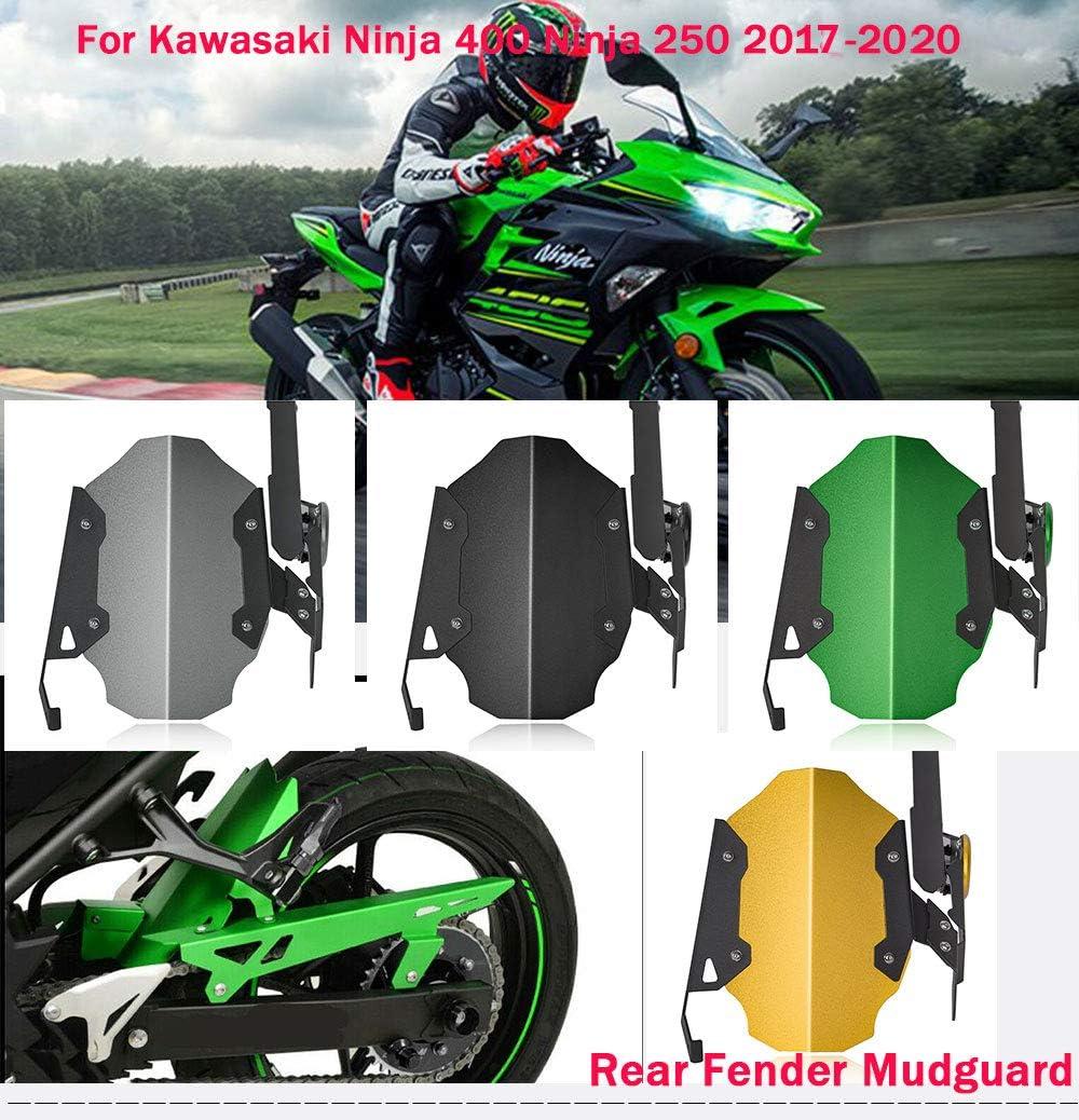 Motorrad 400 Ninja Hinterradabdeckung Kotflügel Spritzschutz Kettenschutz Schutzblech Verkleidung For 2017 2020 Kawasaki Ninja 400 250 Zubehör Grün Auto