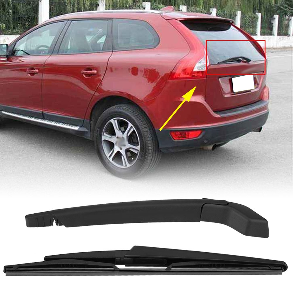 Acouto Car Windscreen Windshield Rear Wiper Blade /& Arm for Volvo XC90 2003-2006