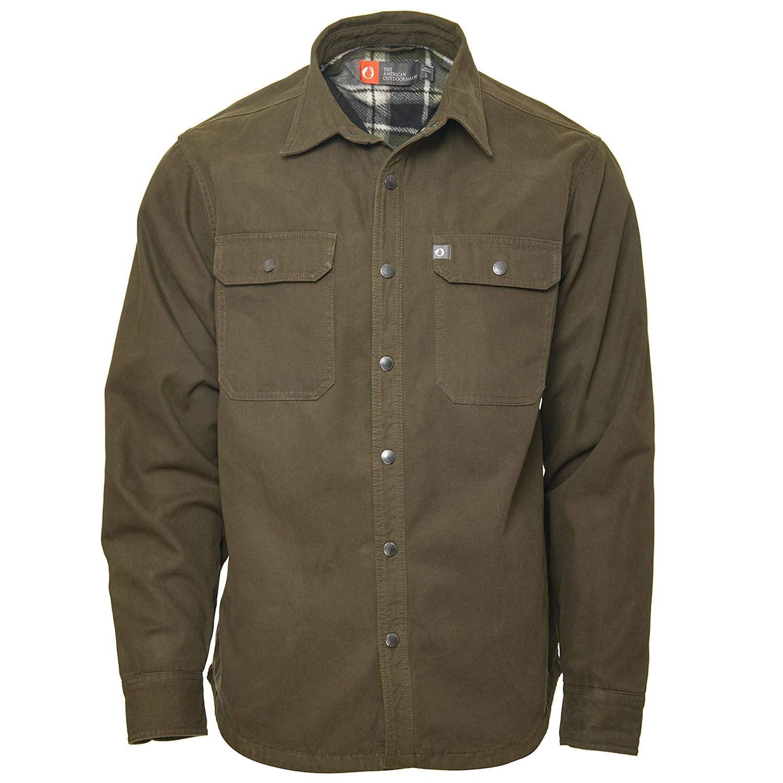 American Outdoorsman Canvas Shirt Jacket