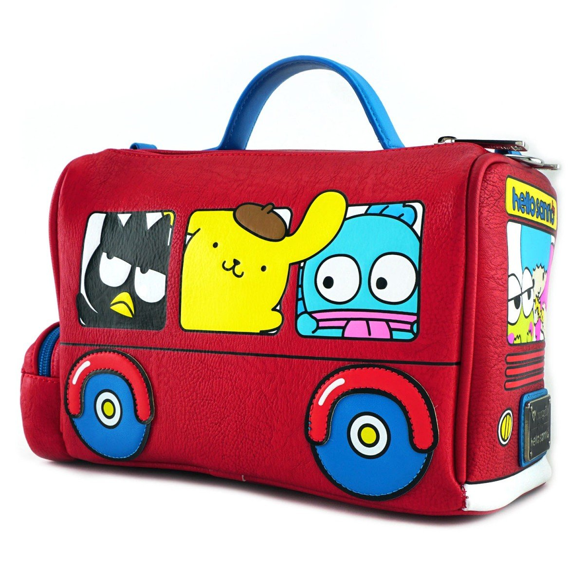 3c03d1fcb23b Loungefly x Hello Sanrio Bus Crossbody Bag  Handbags  Amazon.com