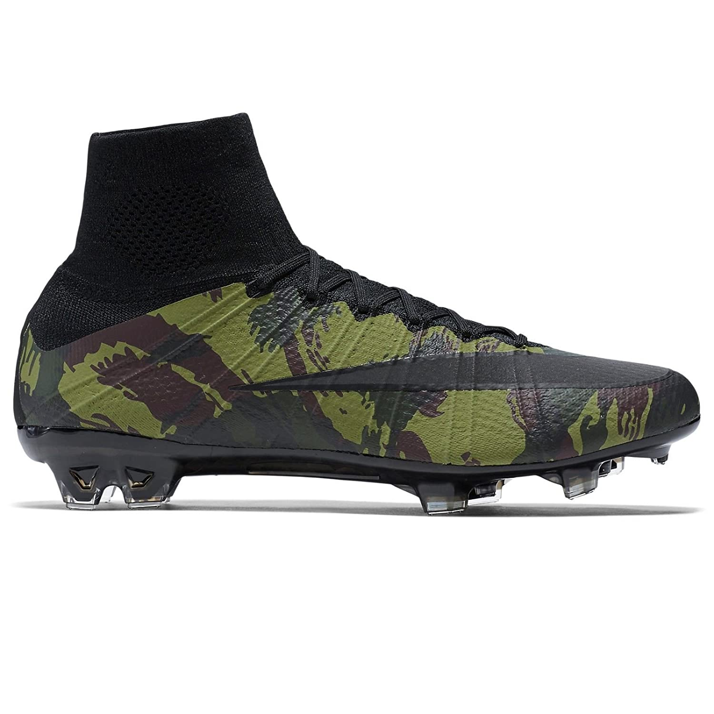5436512c76e3 Nike Mercurial Superfly SE FG 835363-300 Camo Army Black Men Soccer Cleats  Sz 9.5  Amazon.ca  Shoes   Handbags