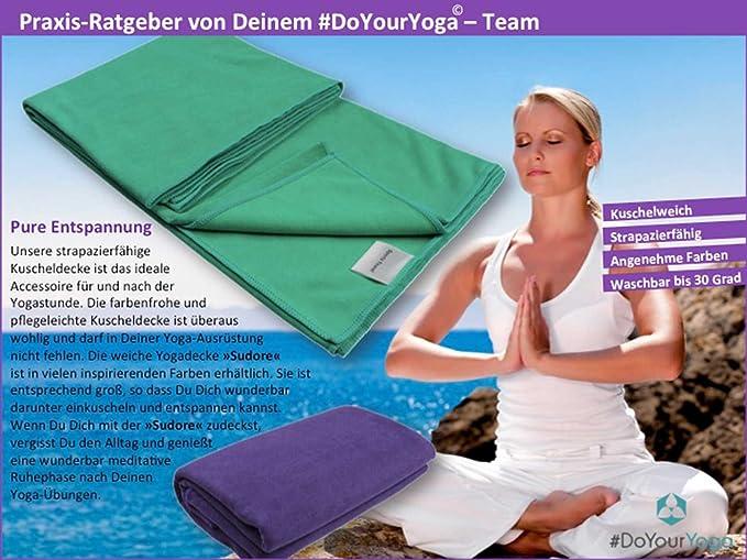 DoYourYoga Manta para Yoga »Sudore« / La Manta para Yoga ...