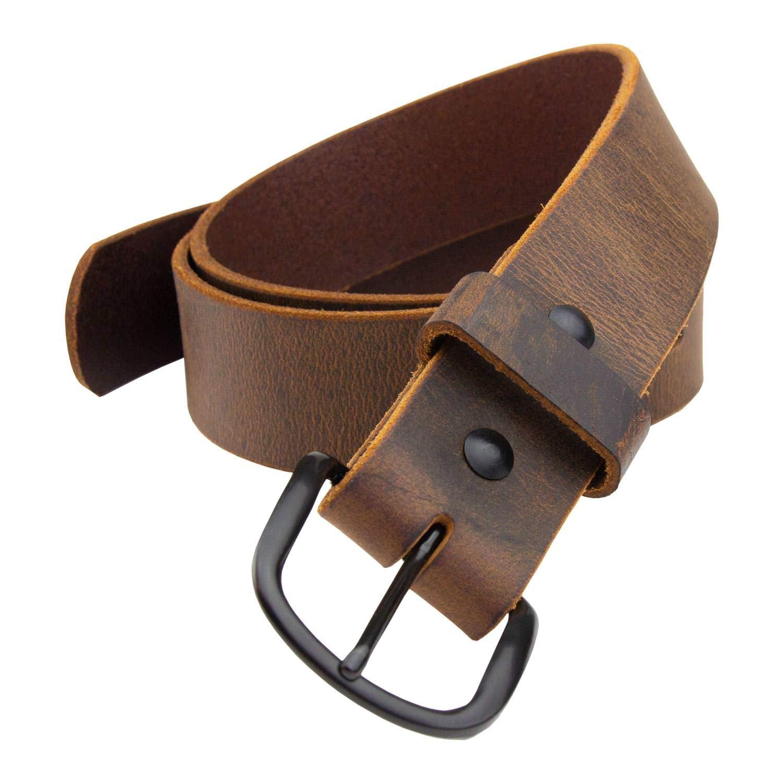 Bootlegger Leather Belt | Made in USA | Full Grain Leather