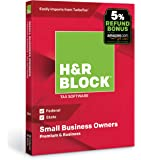 H&R Block Tax Software Premium & Business 2018 with 5% Refund Bonus Offer
