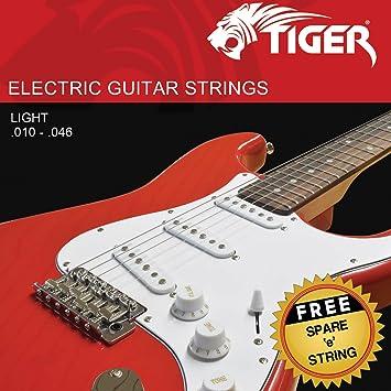 Alice cuerdas para guitarra eléctrica luz - 0,01 - 0.046: Amazon.es: Instrumentos musicales