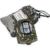 AOFAR AF-4580 Militaire Kompas,Lensatische Waarneming, met Fluorescerend, Waterdicht en Shakeproof met kaart Measurer…