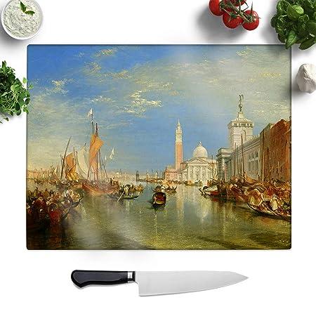 Compra Big Box Art - Tabla de Cortar (Cristal, 27, 5 x 19, 5 ...