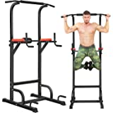 BangTong&Li Power Tower Workout Pull Up & Dip Station Adjustable Multi-Function Home Gym Fitness Equipment