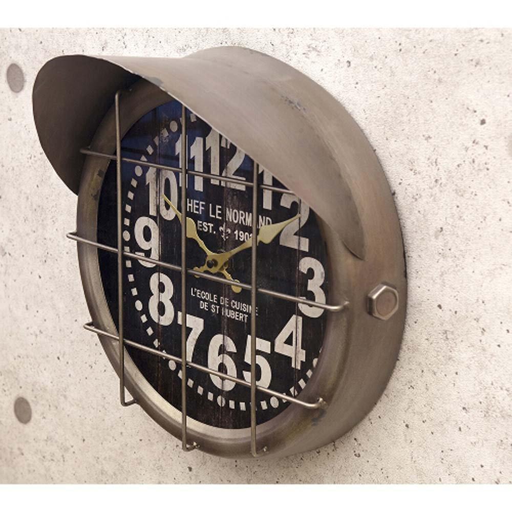 掛け時計 アンティーク調 レトロ クロック サブマリン:int-ak-5a064 (サブマリンブロンズ) B071WNWZLWサブマリンブロンズ