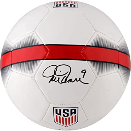 b0d119dfe7b Mia Hamm Team USA Autographed Nike White Soccer Ball - Fanatics Authentic  Certified - Autographed Soccer Balls at Amazon s Sports Collectibles Store
