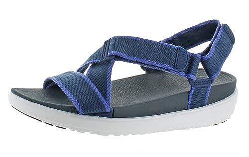 Mujer Fitflop De Azul Vestir Sandalias Para Marino odxCBer
