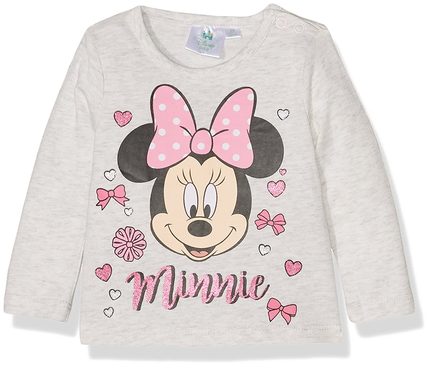 Disney Baby Girls' T-Shirt Disney Minnie WS-160683