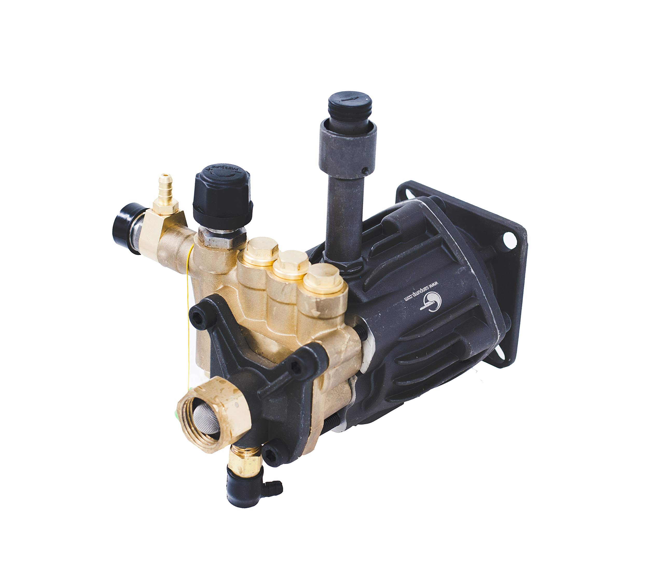 CANPUMP Axial High Pressure Washer Pump 2700 psi 6.5 HP 3/4'' Shaft fits Cat General AR by CANPUMP