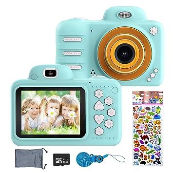 ERAY Cámara para niños, Cámara Digital de Fotos & Vídeos, 8MP ...