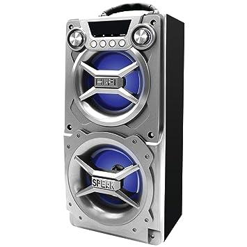 Amazon.com: Sylvania SP328-Silver Portable Bluetooth Speaker: SYLVANIA: Cell Phones & Accessories