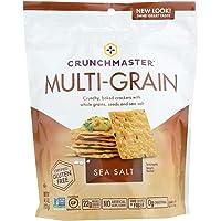 Crunchmaster Multigrain Cracker Sea Salt 127 g (Pack of 12)