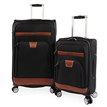 Perry Ellis 2 Piece Premise Spinner Luggage Set 4838401b7b4cc