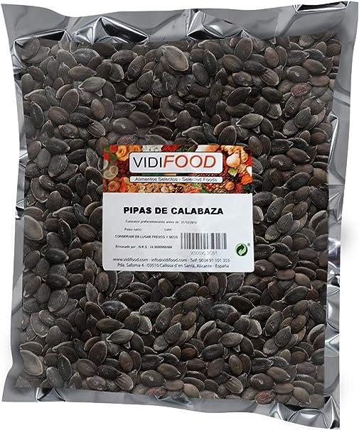 Semillas de Calabaza - 1kg - Snack Rápido Saludable - Pelado Crudo ...
