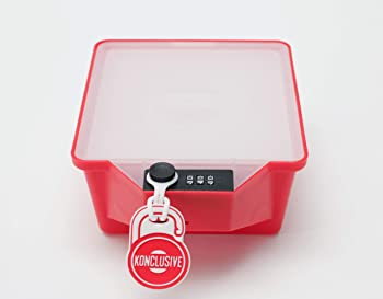 Konclusive Container Strawberry Red Freezer Container