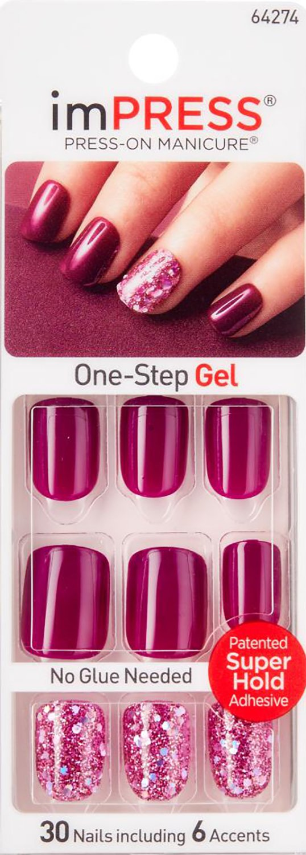 Amazon.com : Kiss Products Broadway Nails Impress Rock It ...