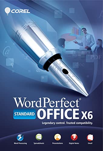 Discount corel wordperfect office x6 standard edition