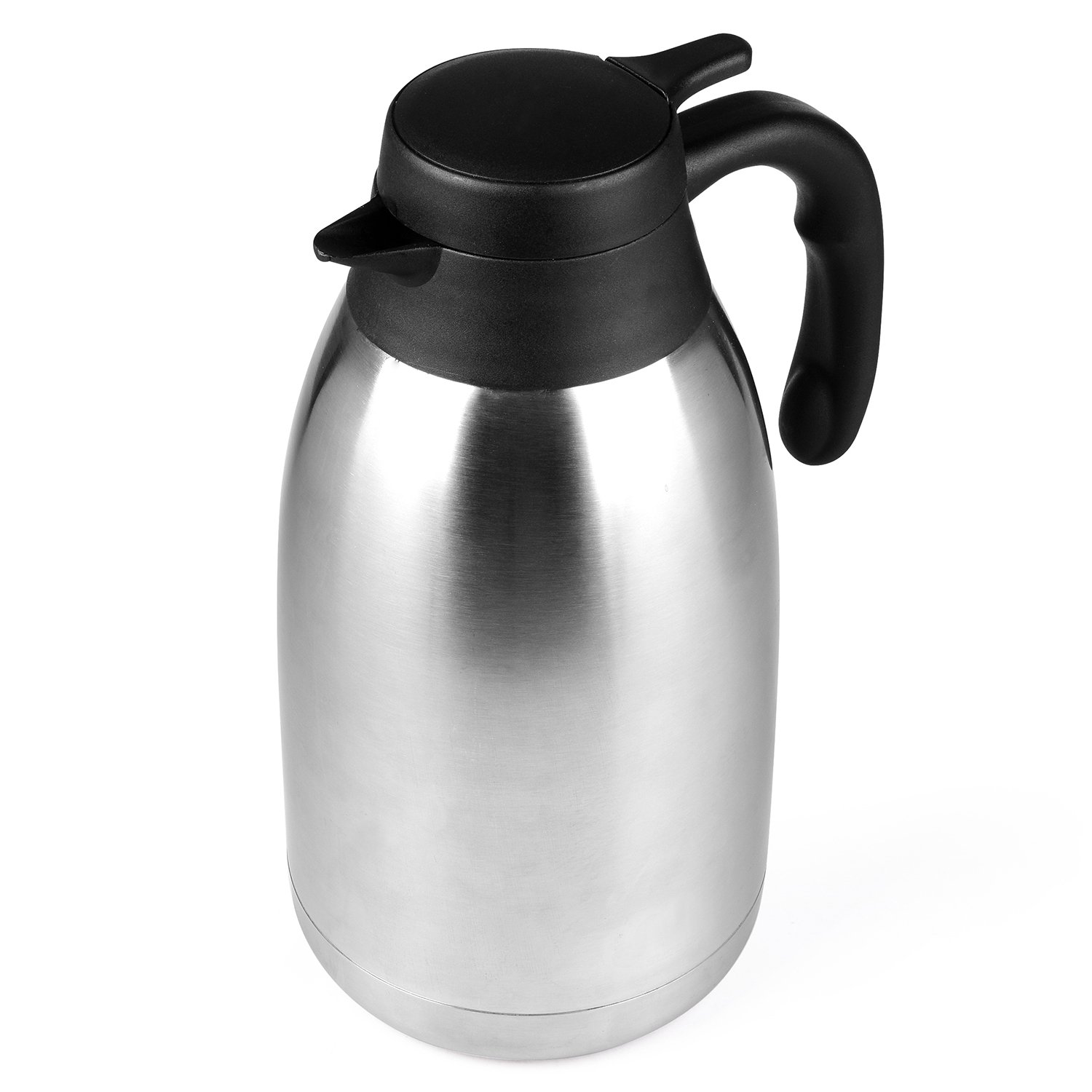 68 Oz Stainless Steel Thermal Coffee Carafe/Double Walled Vacuum Thermos / 12 Hour Heat Retention / 2 Litre by Cresimo by Cresimo (Image #8)