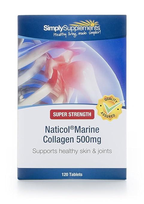 Colágeno 500mg - 120 comprimidos - Hasta 4 meses de suministro - Favorece la salud de
