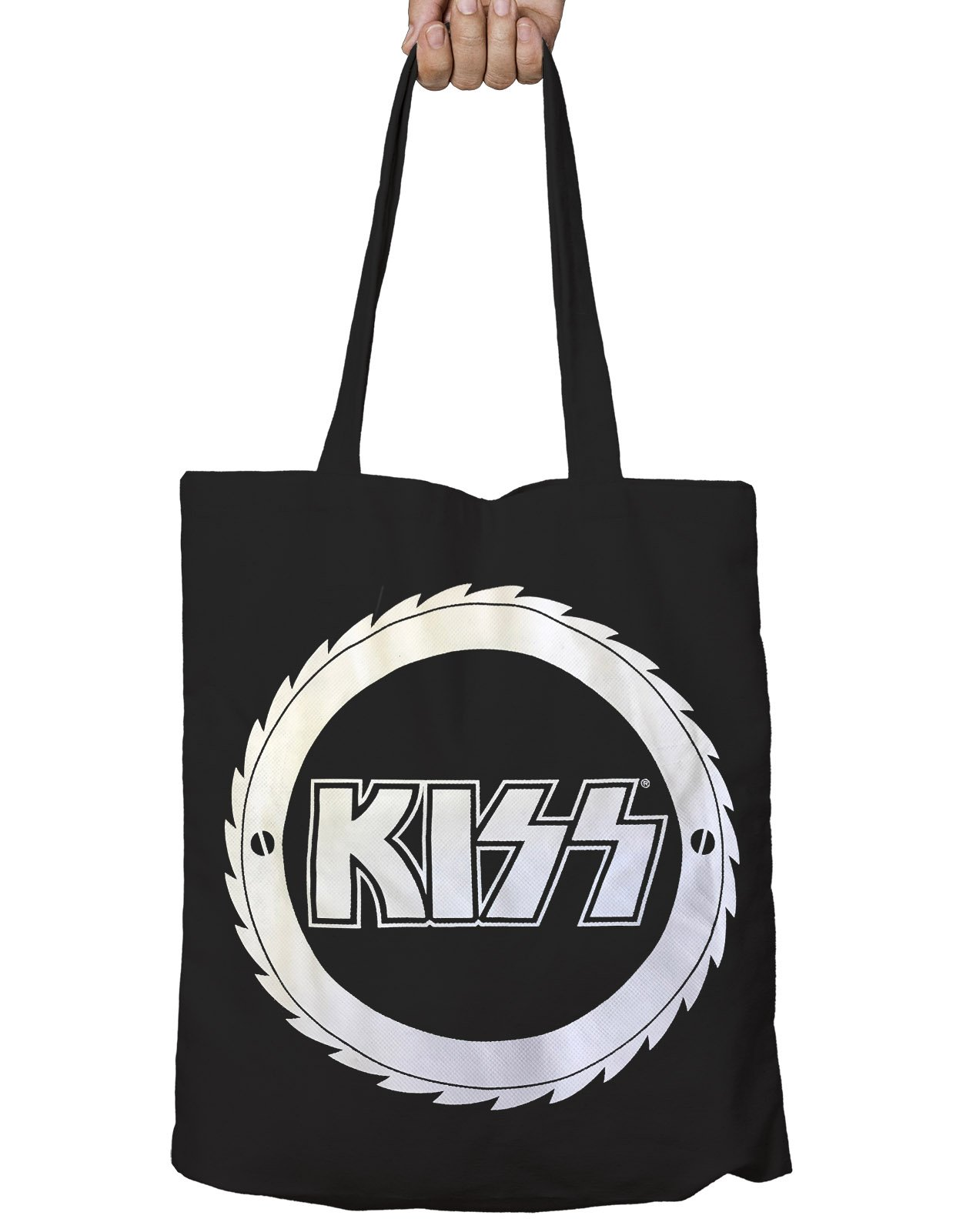 Kiss Buzzsaw Official New Black Eco Shopper Bag