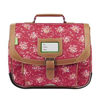 Cartable 32 Tann's Les Fantaisies London Fraise: