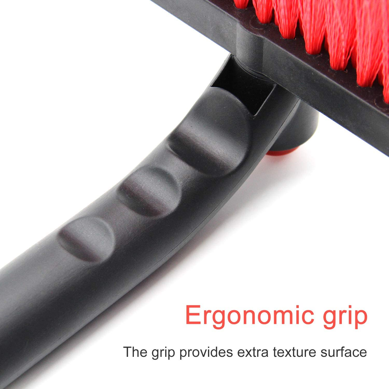 Rotating Head AD AIDO 26 Snow Brush with Squeegee /& Ice Scraper Foam Grip Auto Windshield Snowbrush no Scratch Broom Removal Tool Car Truck SUV Winter Remover