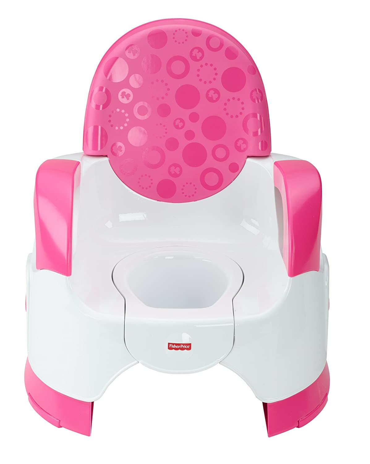 Fisher-Price Custom Comfort Potty Training Seat, pink