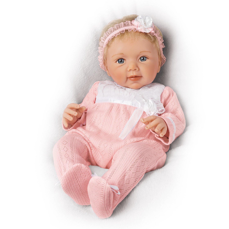 The Ashton-Drake Galleries Sherry Rawn Adorable Addison Lifelike Poseable Baby Doll