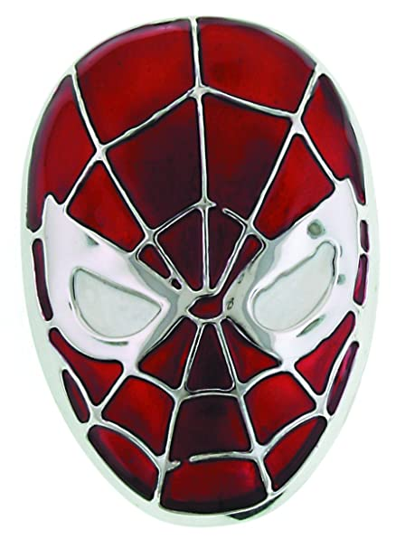 Amazon.com  Jewel M Spider-Man Head Belt Buckle  Toys   Games bf955d91a97